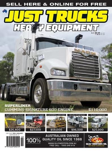 Just Trucks & Heavy Equipment magazine cover