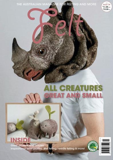 FELT Magazine cover