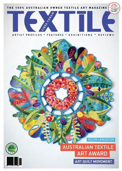 Textile Fibre Forum magazine cover