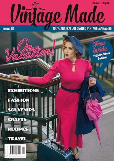 Vintage Made magazine cover