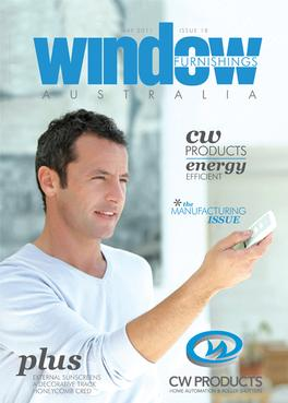Window Furnishings Australia Magazine cover
