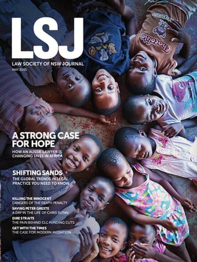 The Law Society Journal magazine cover