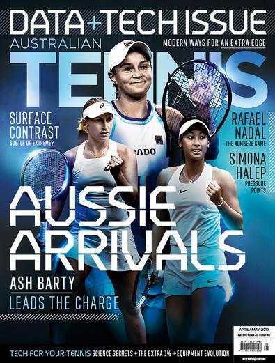 Australian Tennis Magazine cover