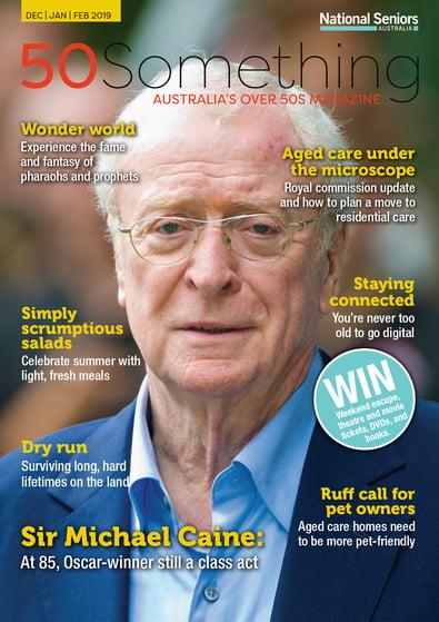 50 Something magazine cover