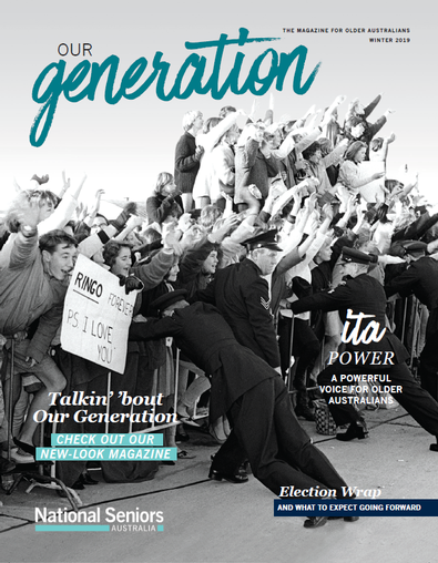 Our Generation magazine cover