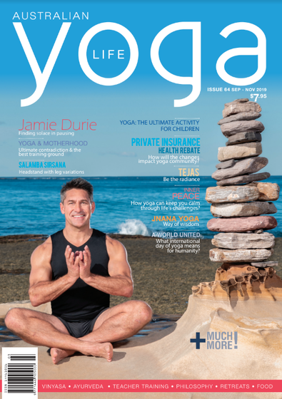 Australian Yoga Life magazine cover