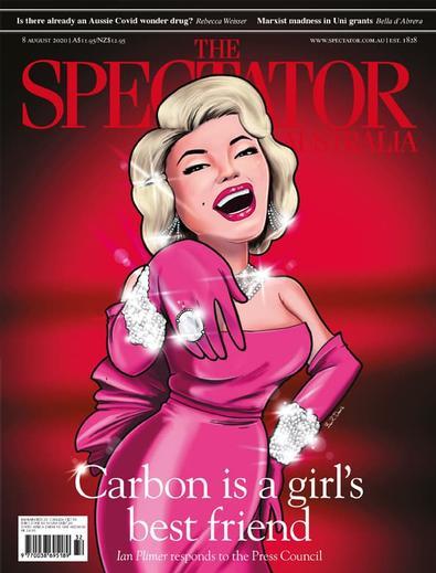 The Spectator Australia magazine cover