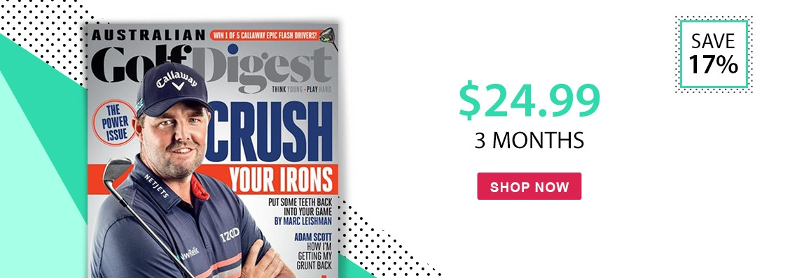 Australian Golf Digest	only $24.99! Save 17%.