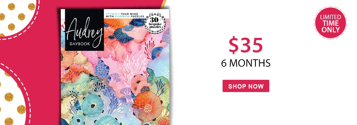 Audrey Daybook only $35 for 6 months