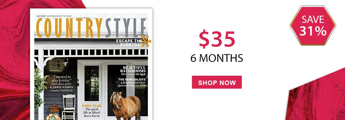 Country Style magazine only $35