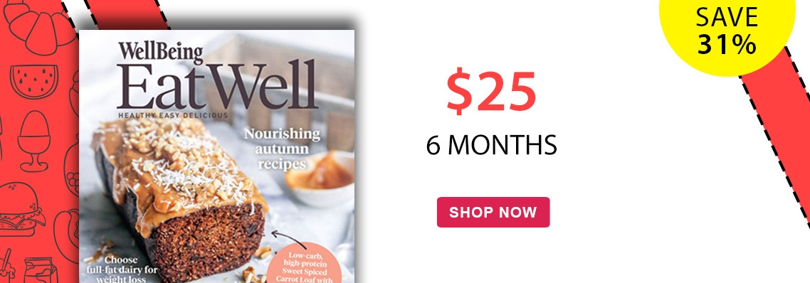 Save 31% on a 6 month subscription to EatWell magazine