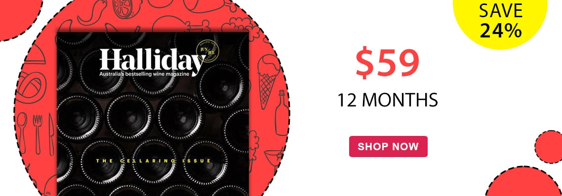 Save 24% on a 12 month subscription to Hallidays Wine Companion