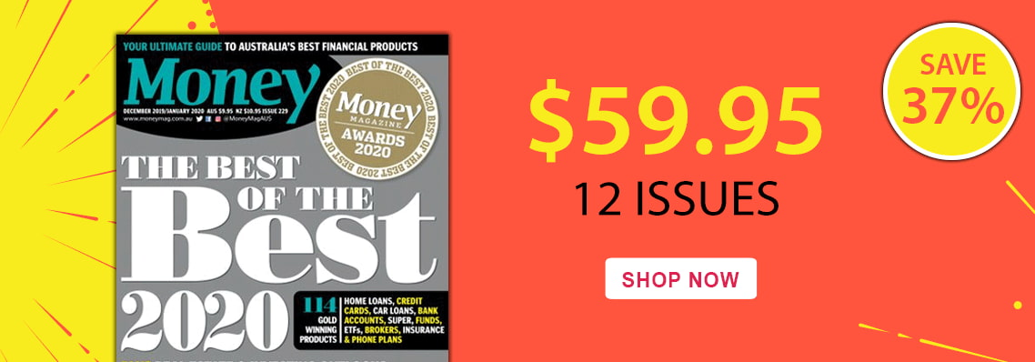 Save 37% with a 12 month subscription to Money magazine