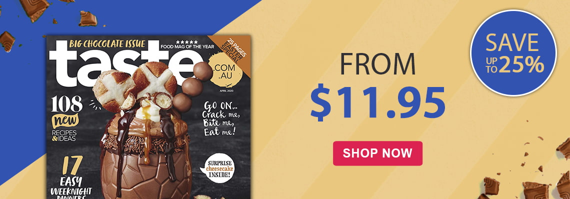 Taste.com.au from $11.95, save up to 25%