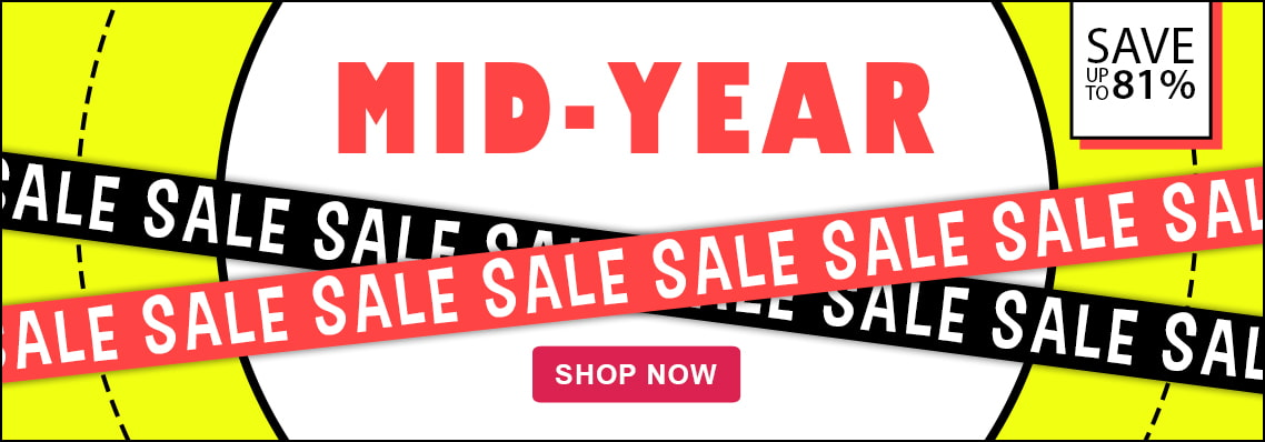 Mid-Year Sale Hot Offers, save up to 81%