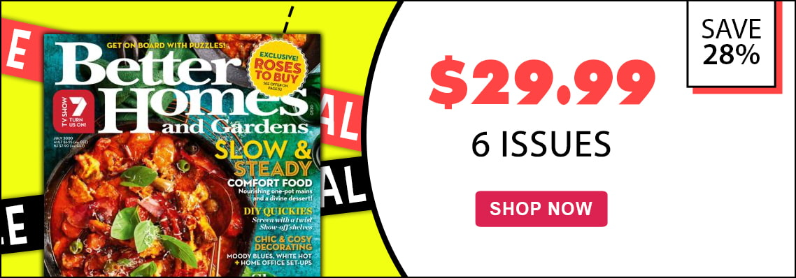 Better Homes & Gardens, only $29.99