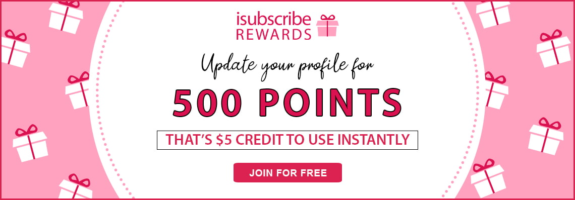 Update your profile and receive 500 points instantly