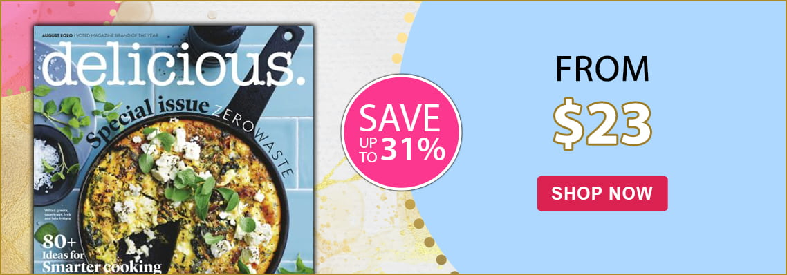 Save up to 31% on delicious magazine