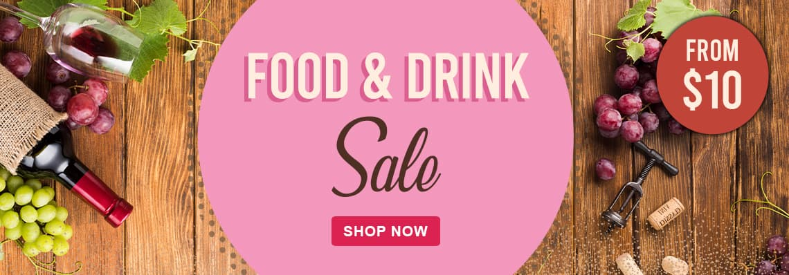 Food & Drink Sale, from $10